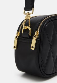 Bally - DIAMOND CASUAL MINI BAG - Handbag - black/redbone - 5