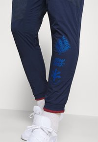 Nike Performance - ELITE PANT - Tracksuit bottoms - midnight navy/reflective silver - 4