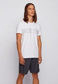 BOSS - T-SHIRT RN SPECIAL - T-Shirt print - white - 0