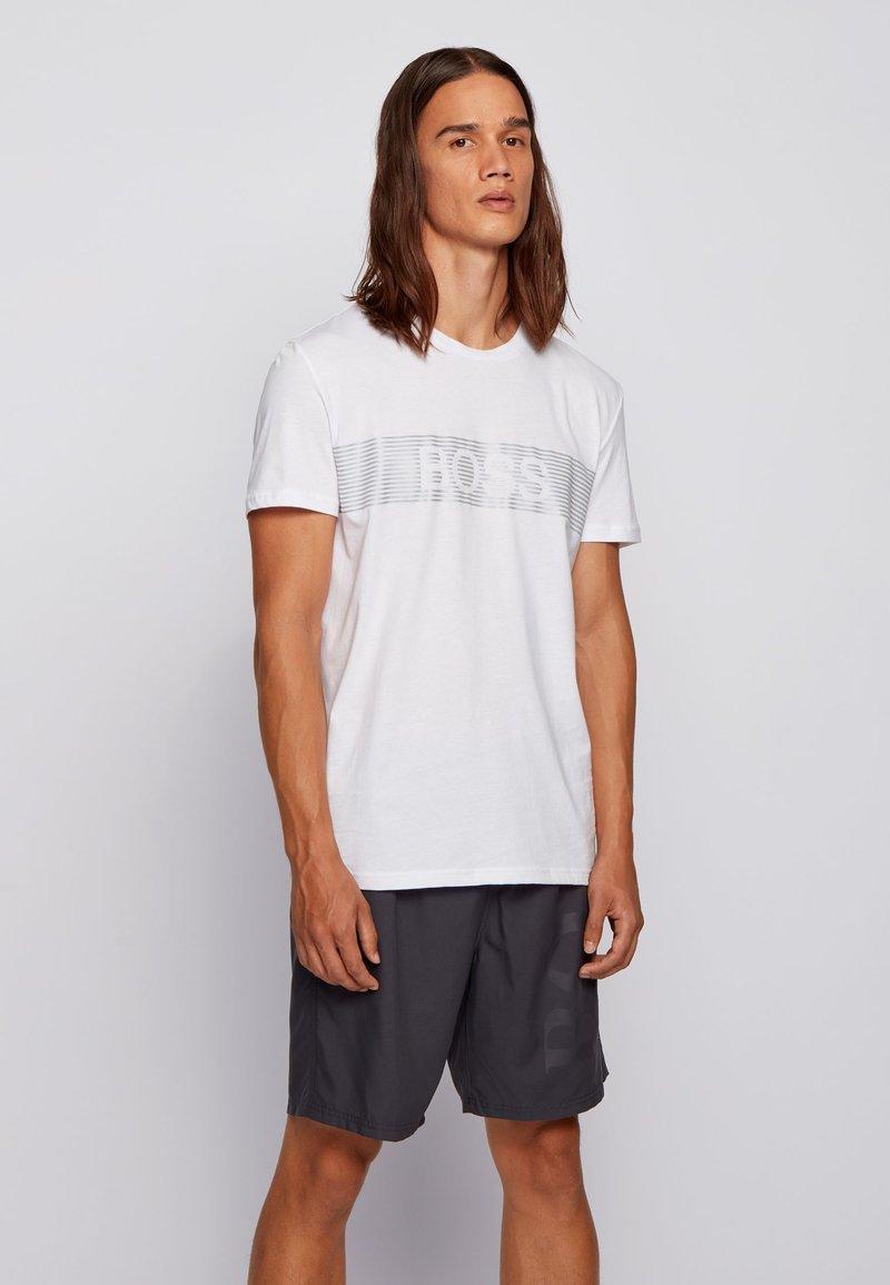BOSS - T-SHIRT RN SPECIAL - T-Shirt print - white
