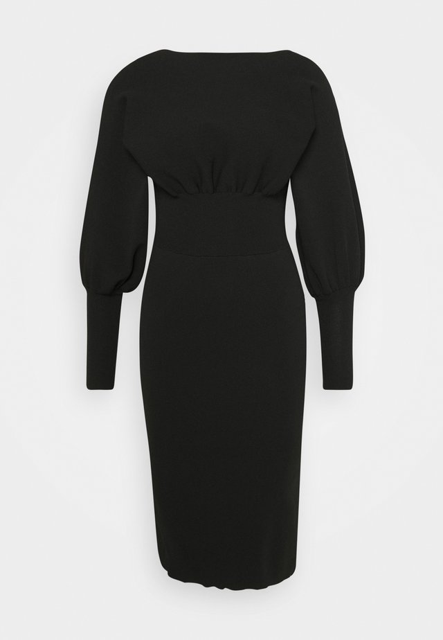 Jumper dress - black
