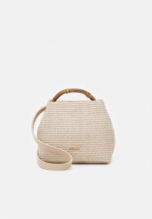 SOLENE MINI TOP HANDLE - Handbag - beige
