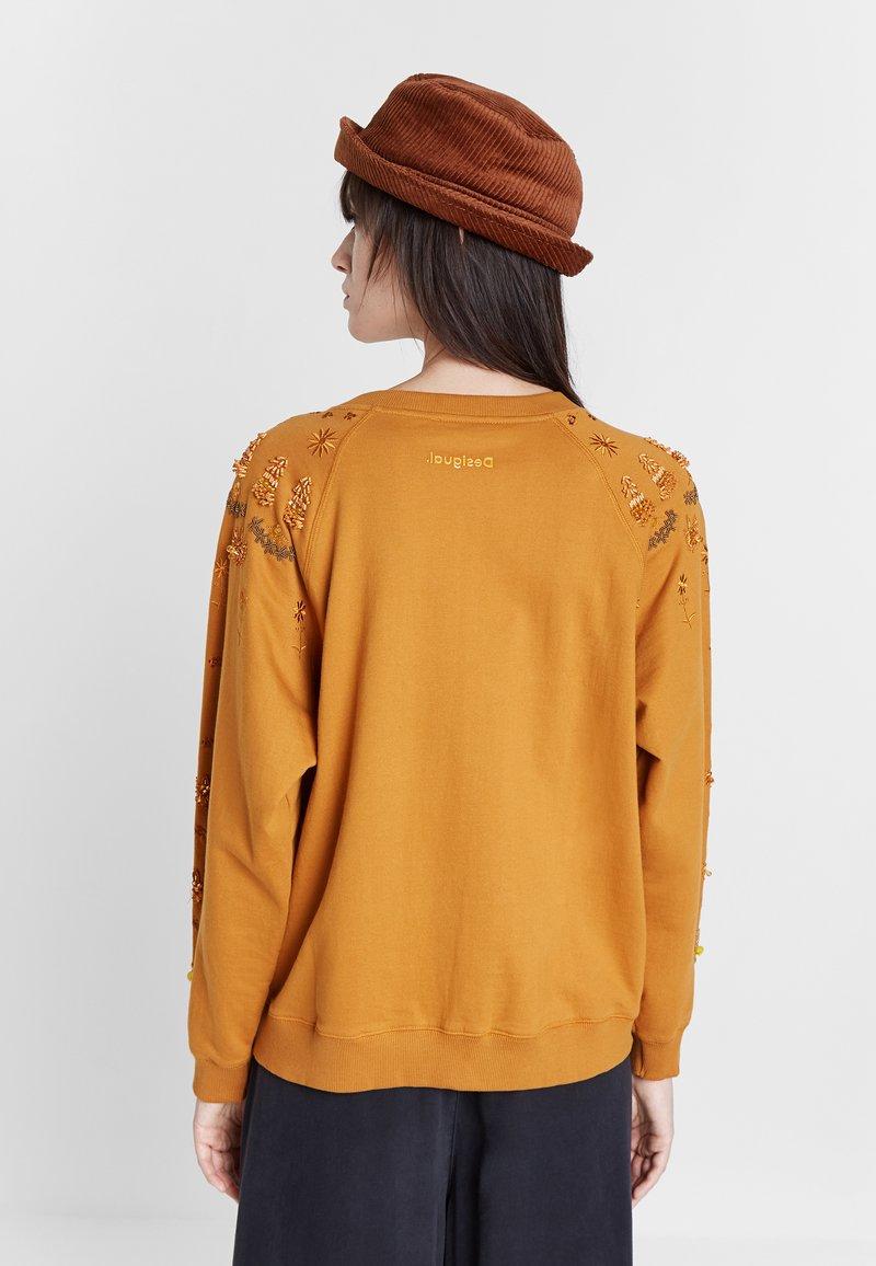 Desigual JEWEL - Sweatshirt - yellow/senf c0pibP