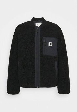 JANET LINER - Light jacket - black