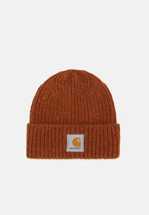 ANGLISTIC BEANIE  - Bonnet - brandy heather