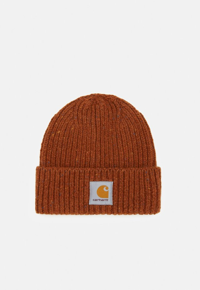 ANGLISTIC BEANIE  - Berretto - brandy heather