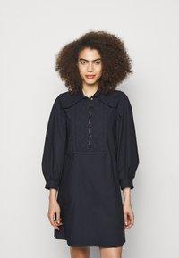 See by Chloé - Shirt dress - navy - 0