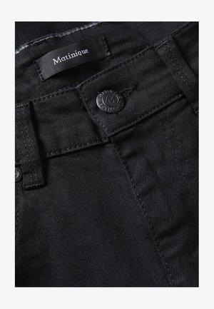 PRISTON - Straight leg jeans - black