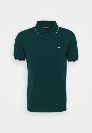 Poloshirt - verde scuro