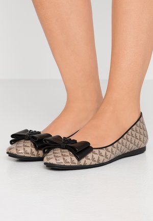 ERA - Ballet pumps - ecru/brown/black