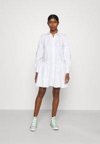 YAS - YASSCORPIO DRESS - Blousejurk - bright white - 0