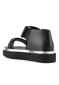United Nude - VITA - Platform sandals - black - 2