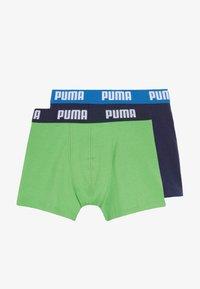 Puma - BOYS BASIC 2 PACK - Pants - green/blue - 3