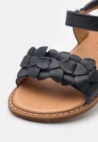 Froddo - LORE FLOWERS - Sandals - dark blue - 5