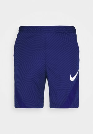 DRY STRIKE - Korte sportsbukser - blue void/deep royal blue/white
