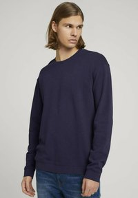 TOM TAILOR DENIM - Sweater - sky captain blue - 0