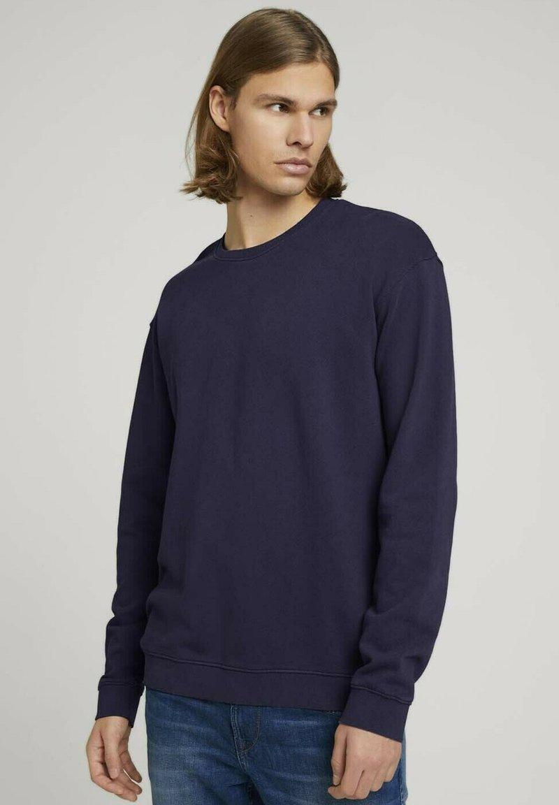 TOM TAILOR DENIM - Sweater - sky captain blue