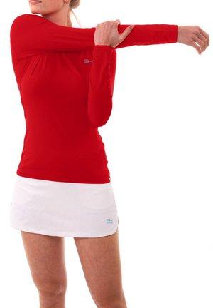 Sports shirt - bordeaux rot