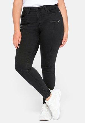 Jeans Skinny Fit - black denim