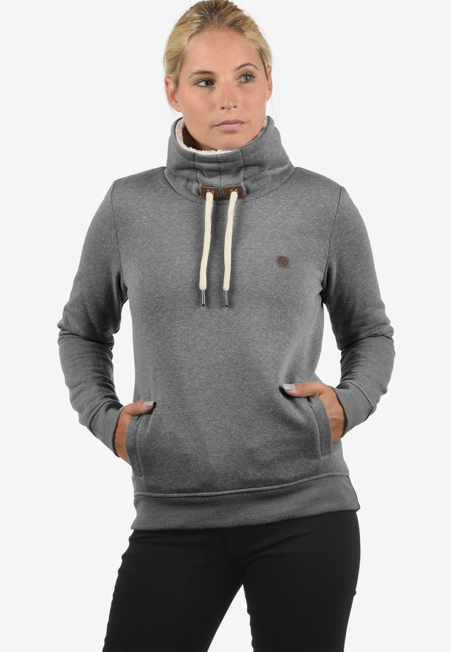 OZEANA - Sweater - grey melange