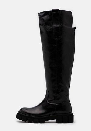 VIDA - Høye støvler - schwarz