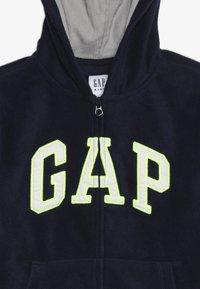 GAP - BOY ARCH HOOD - Fleecejacka - tapestry navy - 4