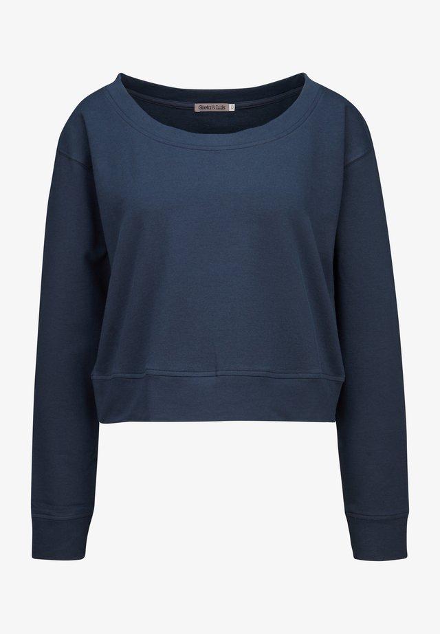 Sweatshirt - marino