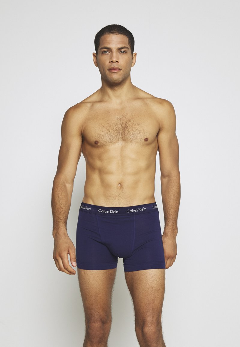 Calvin Klein Underwear - TRUNK 3 PACK - Pants - minnow/horoscope/inferno