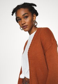 ONLY - ONLLEXI CARDIGAN - Cardigan - ginger bread - 3