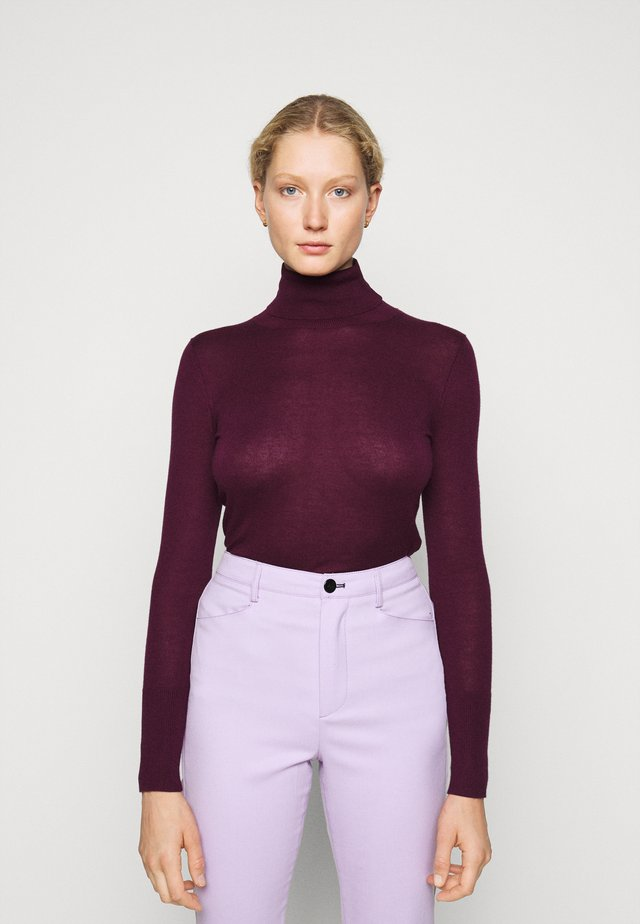 FAVORITE TURTLENECK SPECIAL - Jumper - wild berry