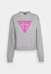 Guess - TRIANGLE - Sweatshirt - stone heather grey - 3