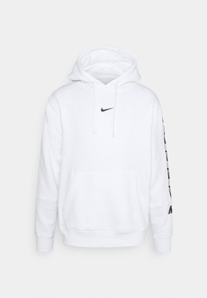 REPEAT HOODIE  - Hoodie - white/black