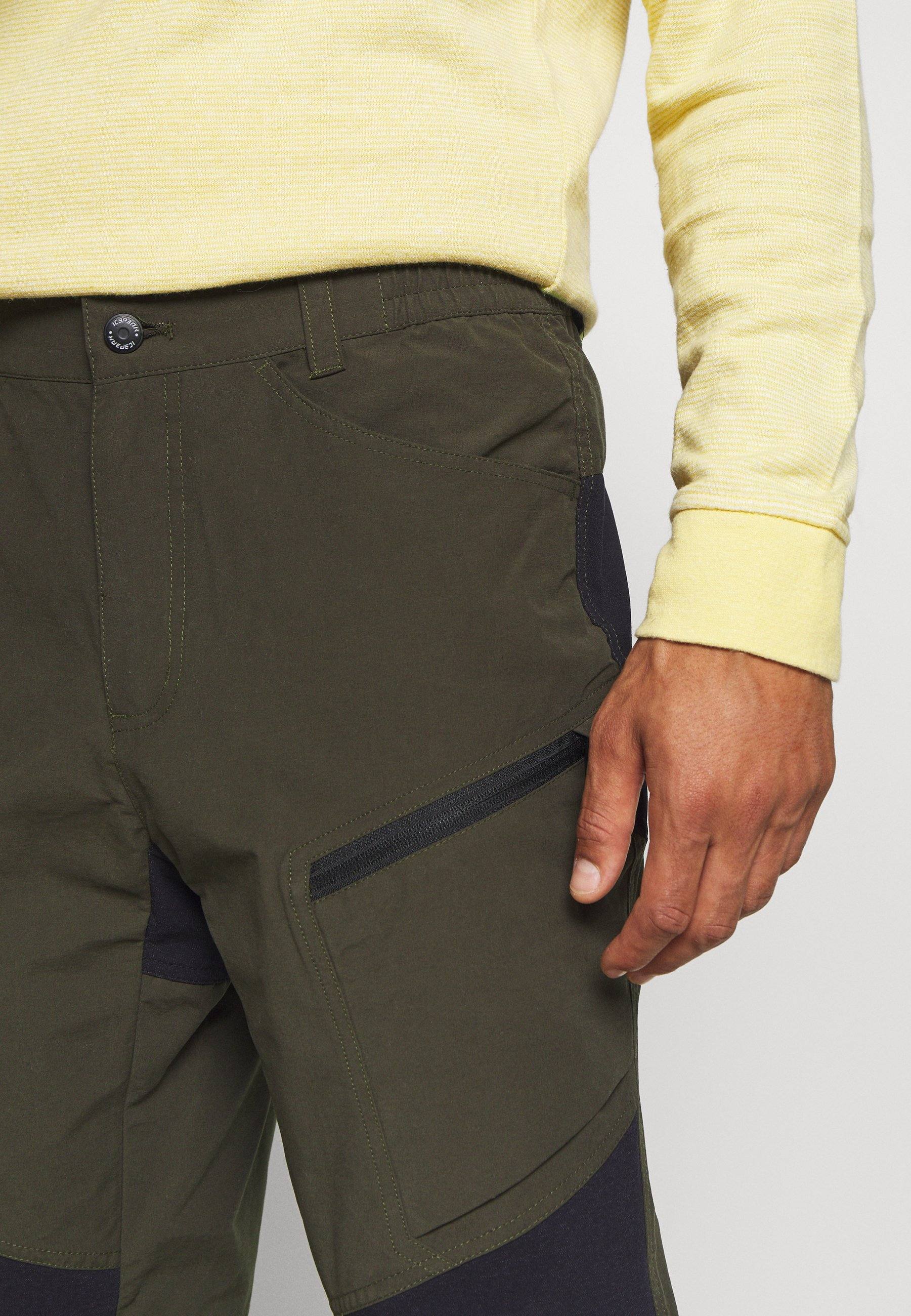 Purchase Men's Clothing Icepeak BREWER Outdoor trousers dark green FGwxemLum