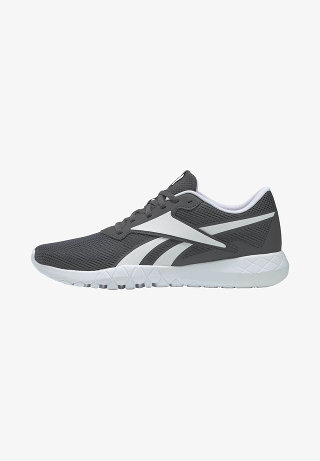 FLEXAGON ENERGY 3.0 MEMORYTECH - Stabilty running shoes - grey