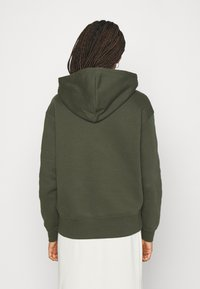 Nike Sportswear - HOODIE TREND - Felpa con cappuccio - cargo khaki/white - 2