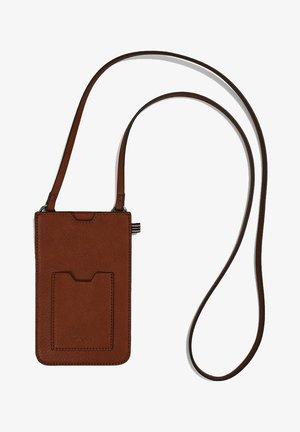 Across body bag - rust brown