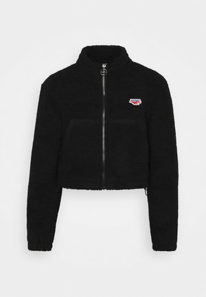 FLEUR - Fleece jacket - jet black