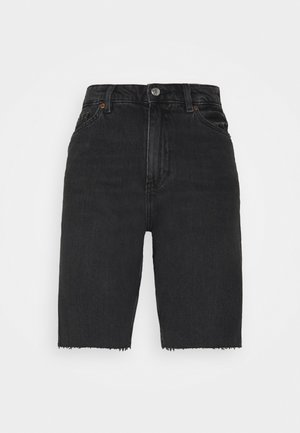 BEA  - Shorts di jeans - black dark