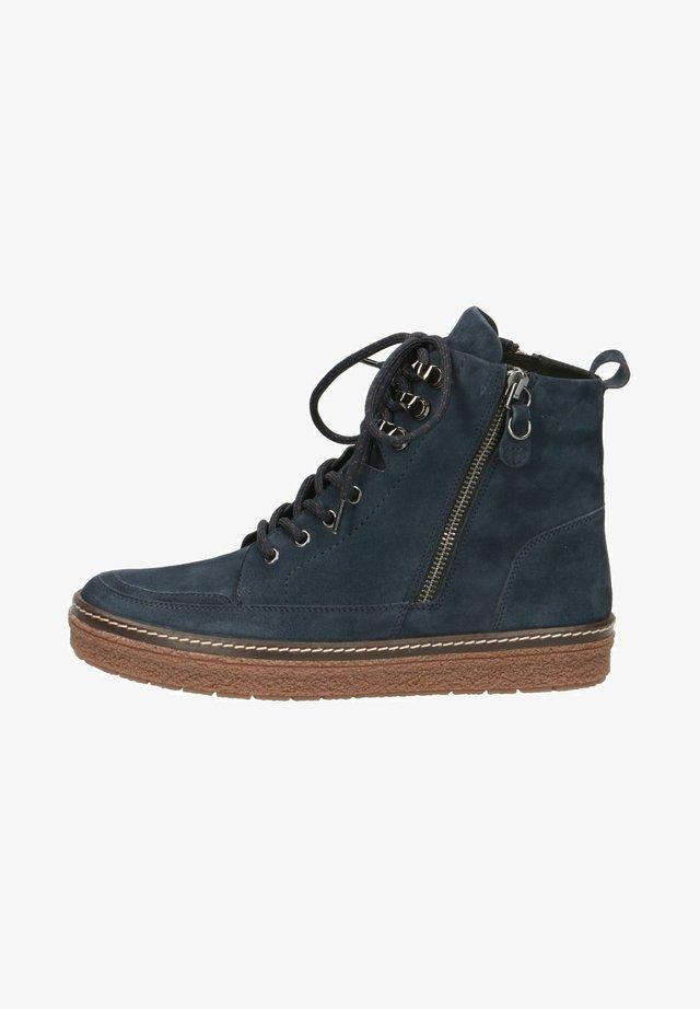 SNEAKER - Sneakers - ocean suede