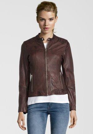BLAIR BIKER - Leather jacket - brr