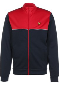 Lyle & Scott - YOKE  - Training jacket - gala red/navy - 0