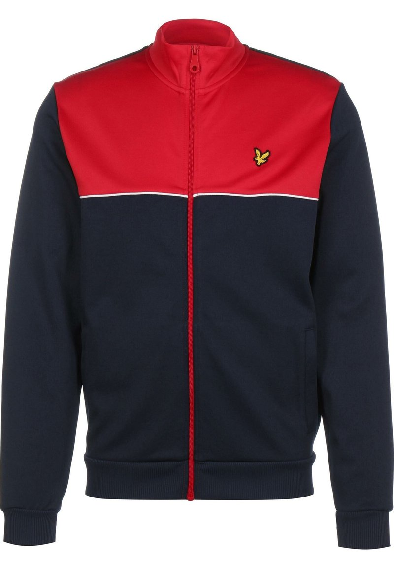 Lyle & Scott - YOKE  - Training jacket - gala red/navy