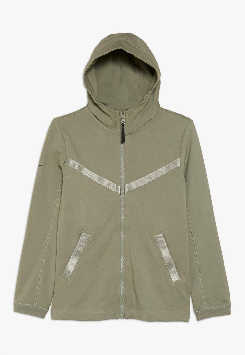 Nike Sportswear - TECH PACK HOODIE - Zip-up hoodie - jade stone