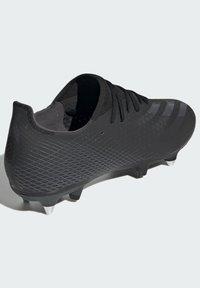 adidas Performance - X GHOSTED.3 SOFT GROUND - Fotbollsskor fasta dobbar - black - 3