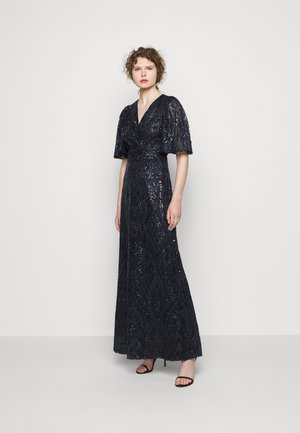 HARLOW LONG GOWN - Iltapuku - navy
