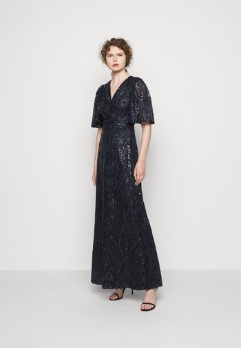 HARLOW LONG GOWN - Occasion wear - navy