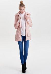 ONLY - EINFARBIGER - Summer jacket - cameo rose - 0