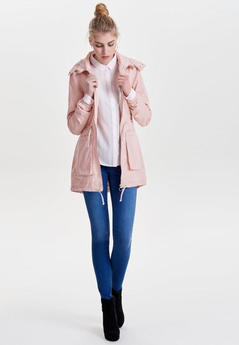 ONLY - EINFARBIGER - Summer jacket - cameo rose