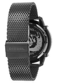 Diesel - GRIFFED - Zegarek chronograficzny - gunmetal - 1