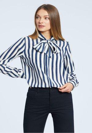 Koszula - dark blue/white